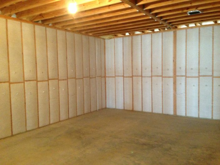 finished insulation project