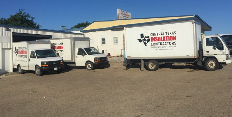 belton office home insulation trucks
